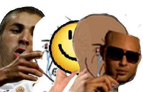 Sticker jvc rage pleure colere benzema pupute rebeu et toi sarcastique cache cry alkpote