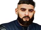 Sticker other sofiane rap toka undercut cheveux bg classe barbe