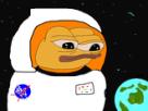 Sticker other apustaja espace astronaute