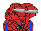 Sticker other apustaja spiderman heros