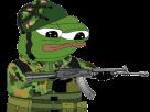 Sticker other apustaja soldat armee arme