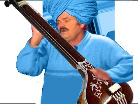 Sticker figma indes inde tanpura guitare musique