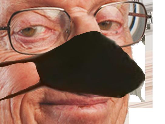 Sticker other nez masque judoka larry
