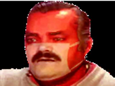 Sticker risitas masque bronzage plage cuck dictature amende figma