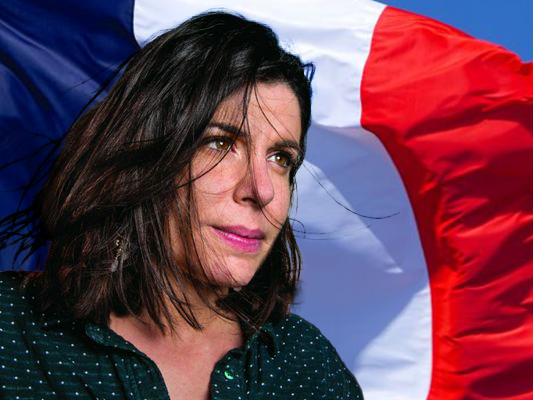 Sticker other charlotte ornellas france drapeau cnews