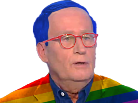 Sticker burgat jean louis praud bar hdp pmu gauche gaucho gauchiste gay islam progres figma