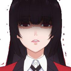 Sticker kj kikoojap yumeko jabami kakegurui gambling school frown