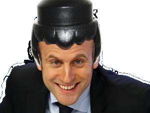 Sticker politic macron playmobil bot