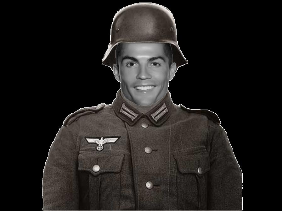 Sticker jvc ronaldo allemand paz ww2 soldat