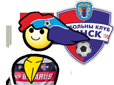Sticker jvc bielorussie fk minsk foot football club master race championnat bielorusse auteur pollorico7