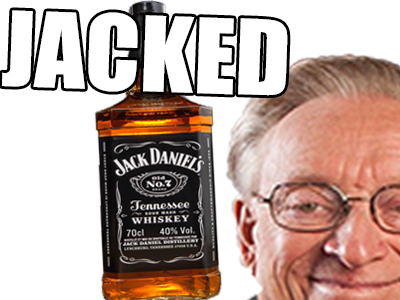Sticker jacked jack delire
