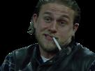 Sticker other jackson jax teller soa sons of anarchy cigarette fume