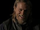 Sticker other jackson jax teller soa sons of anarchy content sourire rigole mort de rire