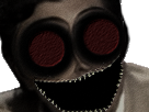 Sticker jesus issou risitas horror creepy