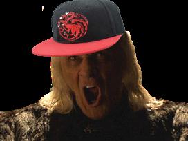 Sticker other mad king aerys targaryen got game of thrones