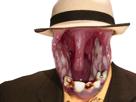 Sticker issou creepy monstre risitas