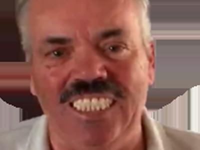 Sticker dent dents risitas zoom