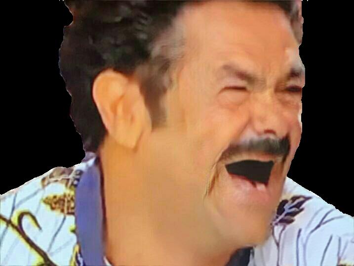 Sticker risitas jamel moustache chemise