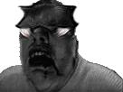 Sticker risitas issou creepy monstre