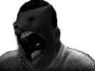 Sticker risitas creepy issou