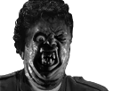 Sticker risitas jesus horreur monstre creepy