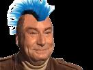 Sticker risitas cuck gaucho gauchiste punk bleu