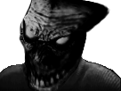 Sticker risitas monstre issou creepy
