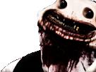 Sticker risitas issou monstre creepy sang