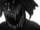 Sticker sorciere risitas creepy monstre