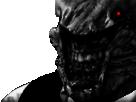 Sticker risitas monstre creepy