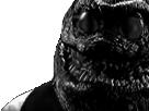 Sticker issou risitas creepy monstre