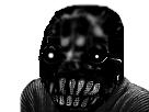Sticker risitas creepy monstre