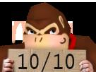 Sticker risitas donky cong 1010 10 10