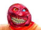 Sticker risitas creepy enfer monstre