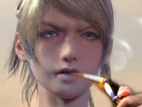 Sticker other luna ffxv femme forte feu cigarette
