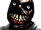 Sticker risitas creepy horreur monstre