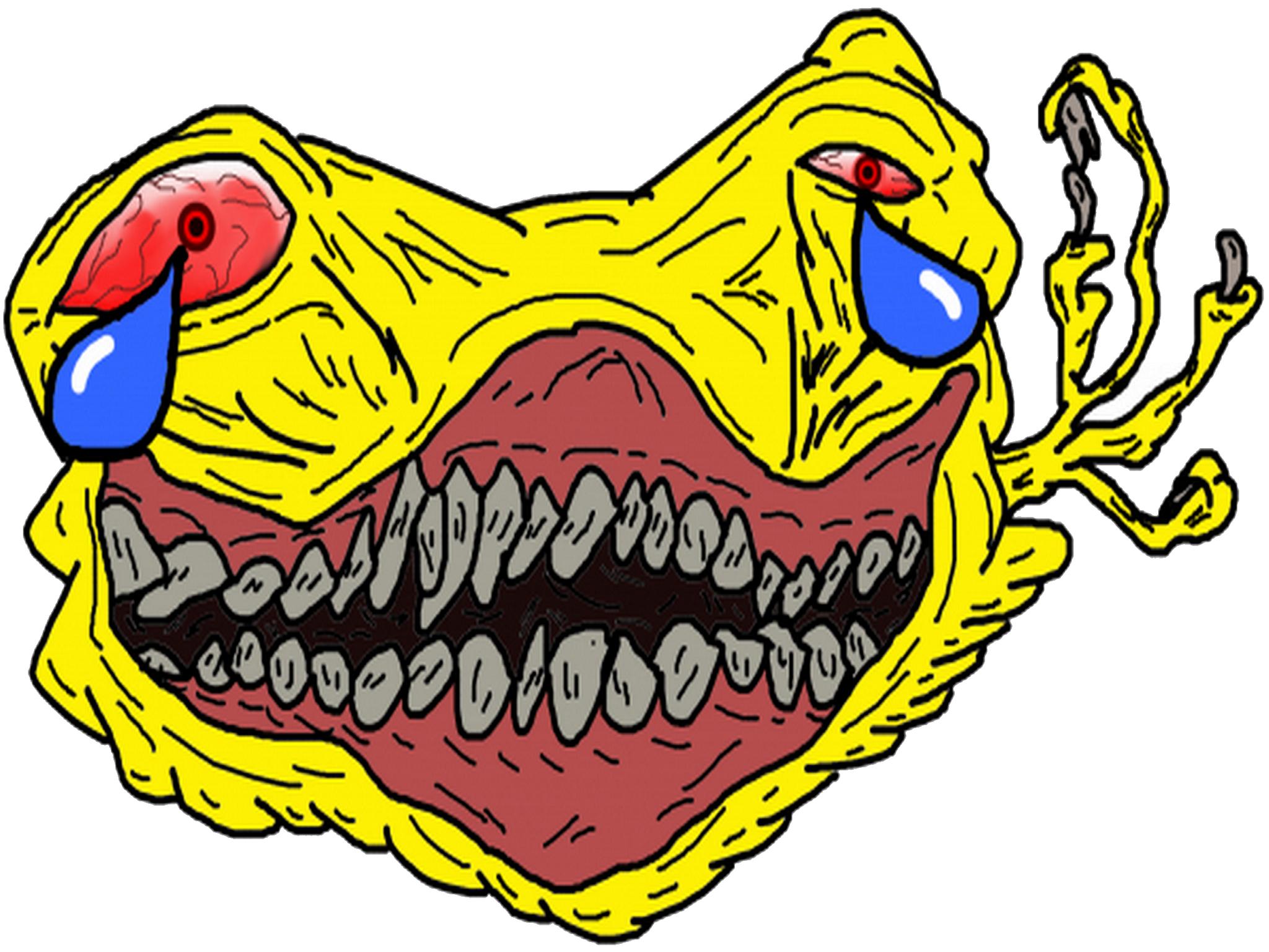 Sticker jvc stickers jpp eco monstre difforme omg
