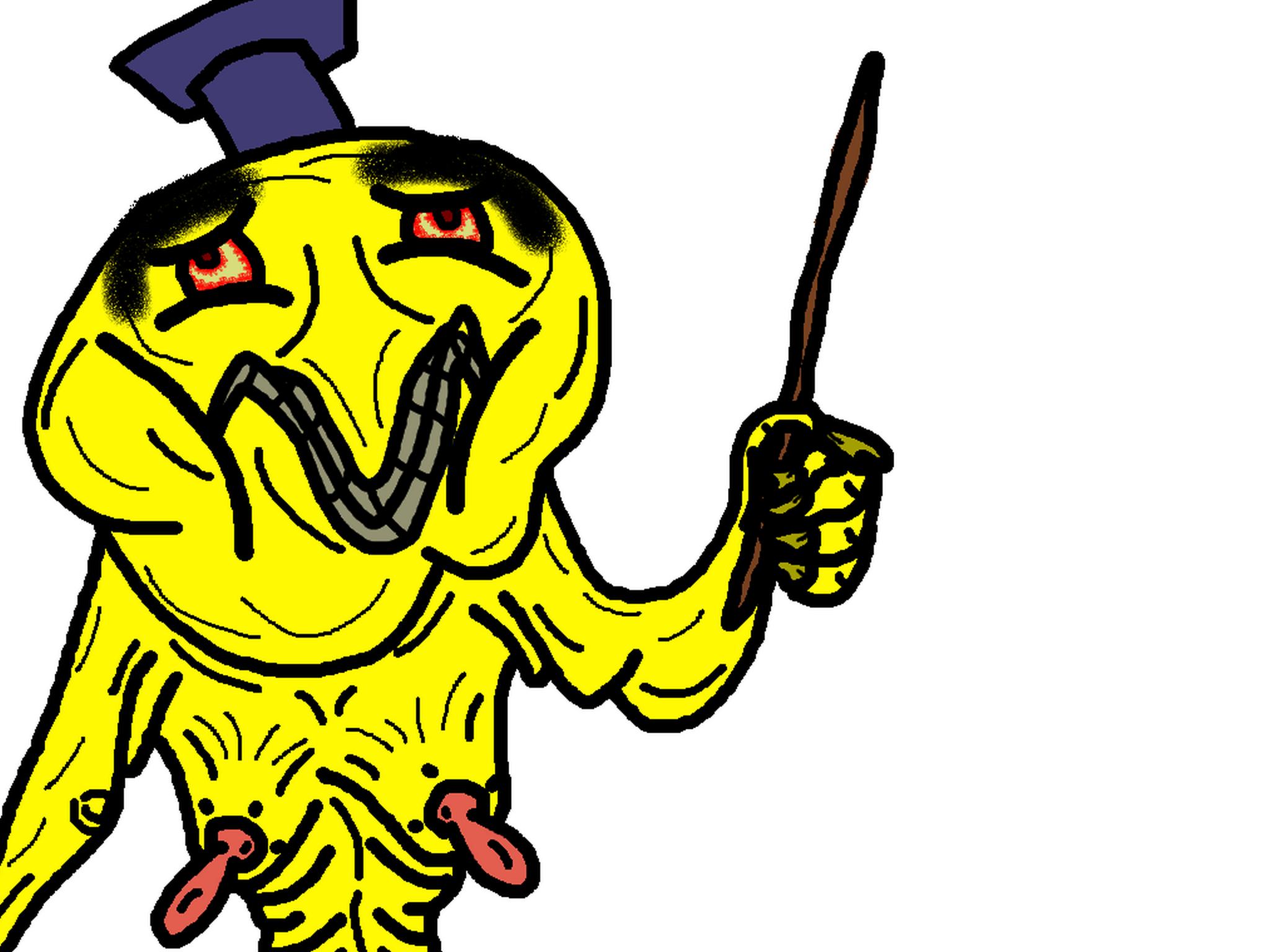 Sticker diplome hap omg baguette bizarre creepy