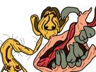 Sticker other creepy monstre bizarre omg immonde