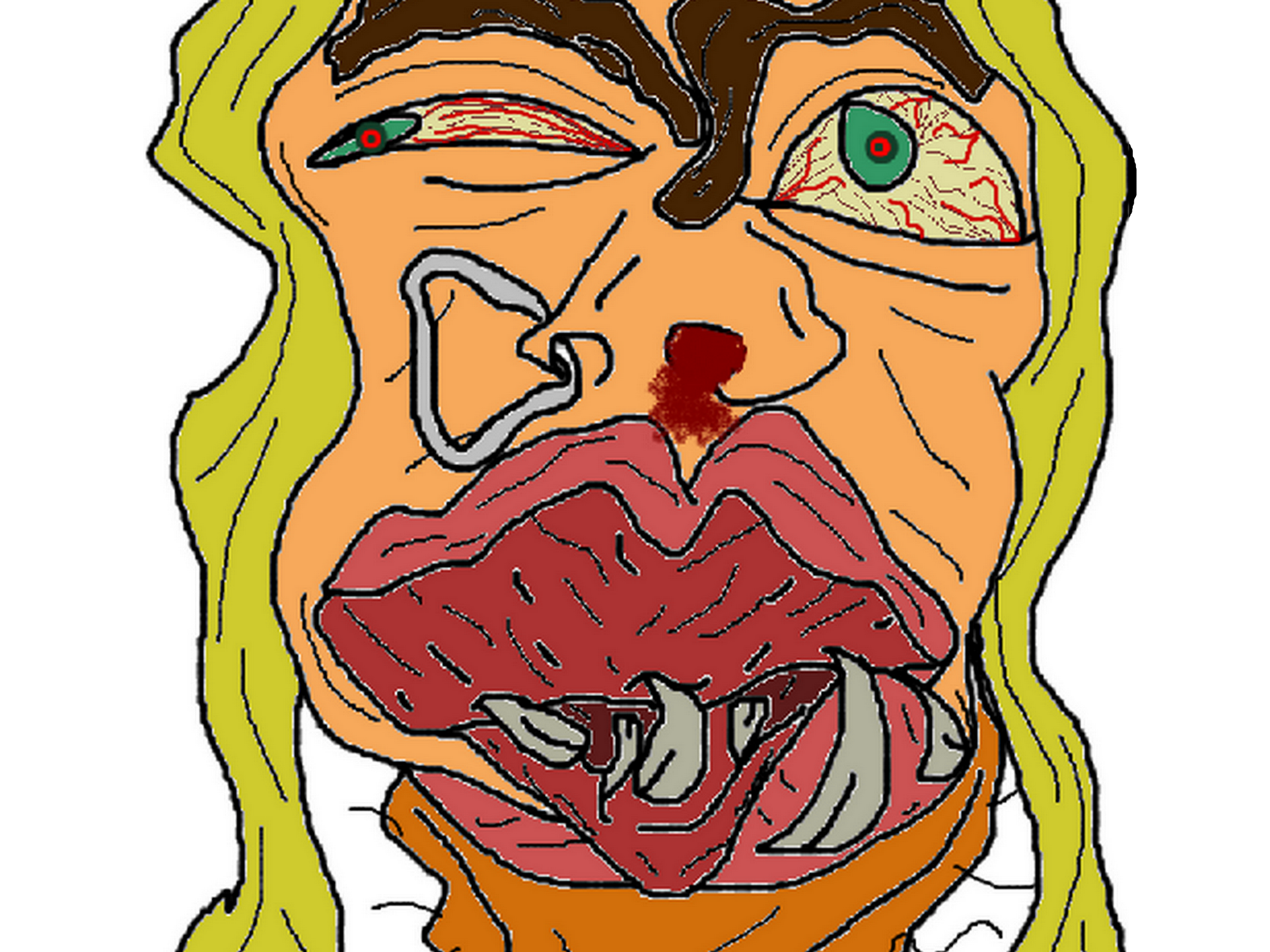 Sticker other feministe ugly moche creepy monstre omg