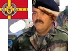 Sticker risitas avenoel drapeau v2 militaire