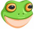Sticker other grenouille sourire facebook