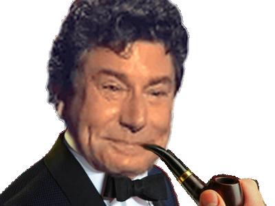 Sticker risitas jesus smoking pipe trader noeud pape papillon costard gentleman gentille homme classe 007 james bond agent secret bourse fumer fume clope cigarette cigare oklm au calme cool no stress