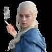 Sticker other khaleesi cigarette fume