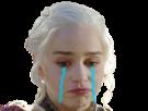 Sticker other khaleesi pleure triste