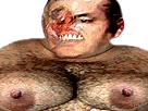 Sticker risitas omg bordel gros porc creepy usa