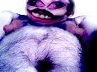 Sticker risitas bizarre omg gros monstre