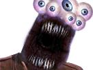 Sticker risitas creepy omfg bordel monstre immonde jesus aya