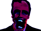 Sticker risitas macron omg bizarre demon aya creepy monstre