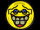 Sticker jvc smiley rire dents jpp